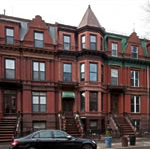 Bed-Stuy rowhouses (photo: MAS website)